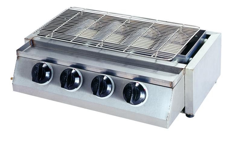 Lò nướng thịt bằng gas