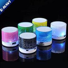 Loa LED Full Crack đầy màu sắc với đài FM cho điện thoại thông